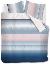 Beddinghouse Senn - Dekbedovertrek - Eenpersoons - 140x200/220 cm - Blauw
