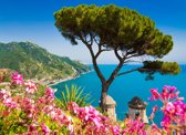 Papermoon Campania Amalfi Coast Vlies Fotobehang 250x186cm 5-Banen