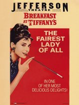 Poster-Breakfast at Tiffany's-Audrey Hepburn-Hollywoodfilm-68x98cm