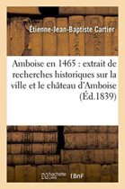 Amboise En 1465
