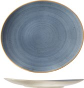 Cosy&Trendy For Professionals Terra Blue Steak Bord - Ovaal