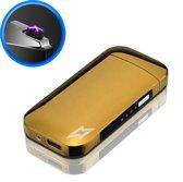 SuperLit - Elektrische Aansteker | USB oplaadbare plasma aansteker, Wind en Storm bestendig - Goud