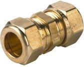 VSH knelkoppeling - recht - 10 x 10 mm - 1 st Vernikkeld