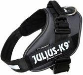 Julius k9 idc powertuig voor hond antraciet maat 2/71-96 cm