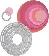Sizzix Framelits Die Set Circles, 8 stuks