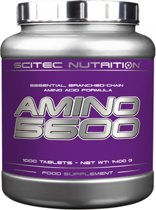 Scitec Nutrition - Amino 5600 - Essential, Branched-chain amino acid formula - 1000 tabs - 250 porties