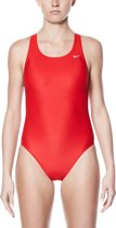 Nike Swim Badpak Dames Fast Back Tank One Piece - University Red - 40
