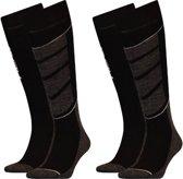 Head skisokken 2-pack V-shape kniehoogte - zwart-39-42