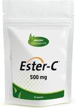 Ester C 500 mg - 60 capsules - Niet-zure vorm Vitamine C