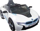 BMW i8 Wit Met Afstandsbediening Elektrische Kinder Accu Auto