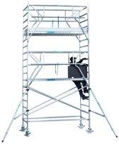 Rolsteiger standaard 135x305 6,2m werkhoogte + dubbele voorloopleuning