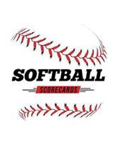 Softball Scorecards: 100 Scoring Sheets For Baseball and Softball Games