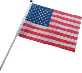 Tom Handvlaggen Vs 4 Stuks Rood/wit/blauw