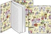 Blond - Rekbare Boekenkaft A4 - Geel
