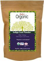 Radico INDIGO 100% Natuurlijke BIO Organic Care Haarverf Zonder Ammoniak, Ammonia, PPD, PTD, Peroxide etc. 100g