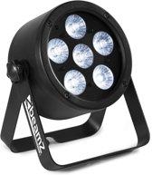 2e keus - BeamZ BAC300 Aluminium LED Par met 6x 8W 4-in-1 LEDs