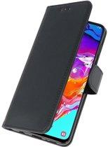 Samsung Galaxy A70 Bookstyle Wallet Hoesje - Zwart