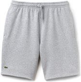 Lacoste Sport Tennis Fleece Short Heren Sportbroek casual - Maat L  - Mannen - grijs