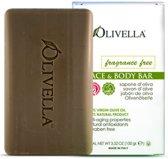 Olivella Olijfzeep zonder geur ( 4 stuks olijfoliezeep van 100gram )