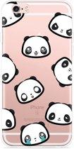 iPhone 6 Plus/6S Plus Hoesje Panda Emotions