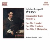 Weiss: Sonatas For Lute Vol.2