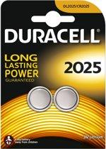 Duracell CR2025 Lithium Batterijen 3V - 2 Stuks
