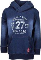 Blue Seven Jongens Sweater Indigo Vintage Blauw - Maat 110