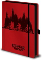 Hole In The Wall Stranger Things: Upside Down Premium A5 Notebook