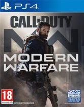 Cover van de game Call of Duty: Modern Warfare (PS4)