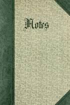 Vintage Floral Pattern Design Notes Journal