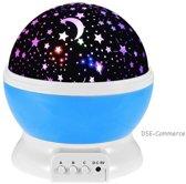 Nachtlamp Sterren - LED projector - Plafond Projector LED Lamp - blauw