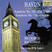 Haydn: Symphonies 101 and 104 / Charles Mackerass