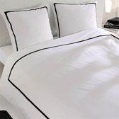 Snoozing Monte Carlo dekbedovertrek White/Black 2-persoons (200x200/220 cm + 2 slopen)