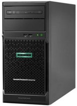 Toren Server HPE ProLiant ML30 Gen10 Xeon E-2124 8 GB RAM LAN Zwart