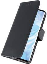 bookstyle / book case/ wallet case Wallet Cases Hoesje voor Huawei P30 Pro Zwart