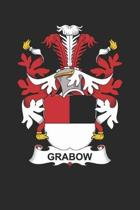 Grabow: Grabow Coat of Arms and Family Crest Notebook Journal (6 x 9 - 100 pages)