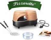 Emerio PO-122250 pizzamaker en -oven 2 pizza('s) Zwart, Terracotta 800 W