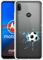 Motorola Moto E6 Plus Hoesje Soccer Ball