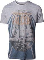 Star Wars - Han Solo The New Millennium Falcon Men s T-shirt - S