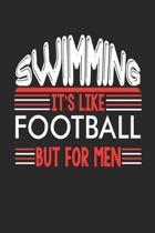Swimming It's Like Football But For Men