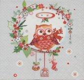 Servetten Christmas Wisdom 25 x 25 cm