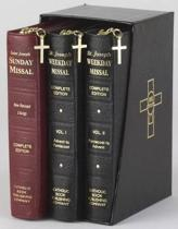 Saint Joseph Weekday & Sunday Missal Gift Set