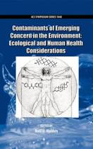 Contaminants of Emerging Concern in the Environment