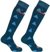 Salomon Team  Wintersportsokken - Maat 31-34 - Unisex - donker blauw