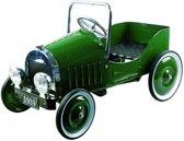 Trapauto: GROEN (1939) 80x40x54cm, in metaal en kunststof, 3