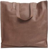 MYOMY My Paper Bag XL Dames Shopper - Rambler brandy