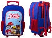 PAW PATROL Rugzak Trolley Kinderkoffer Rugtas Logeren School Tripjes