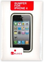 C-BLOCS Bumper voor iPhone 4 Wit