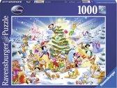 Ravensburger puzzel Kerstmis met Disney 1000 stukjes