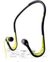 PURO IPHFSPORT4GRN Zwart, Groen Intraauraal Neckband koptelefoon